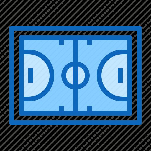 Basketball, field, playground, sport icon - Download on Iconfinder