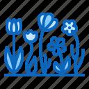 botanical, flowers, garden, plants icon