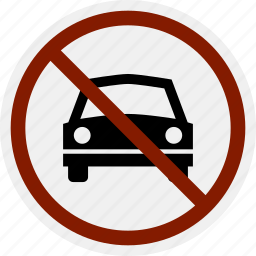 area, car, do not, no, parking, sign, vehicle icon