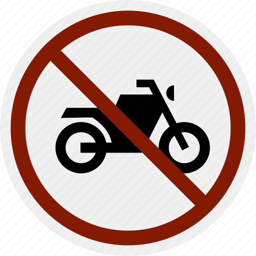 area, bike, do not, motorbike, motorcycle, no, parking icon