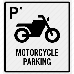 area, bike, entrance, motorbike, motorcycle, parking, reserve icon