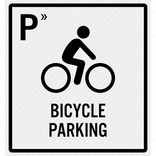 area, bicycle, bike, cycle, cycling, cyclist, parking icon