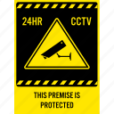 camera, car, cctv, park, protection, security, surveillance icon