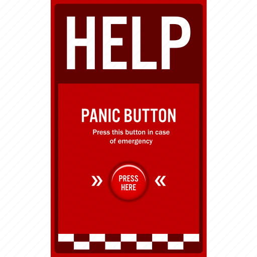 car, help, panic, park, safety, security, sign icon