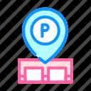 gps, mark, parking, location, transport, electronic