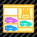 lift, multi, level, parking, transport, electronic