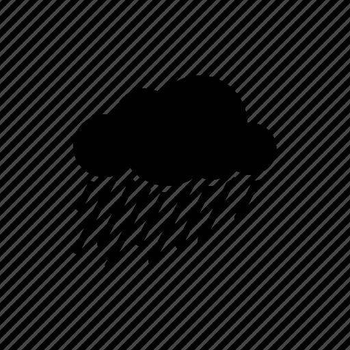 parks, rainy, storm icon