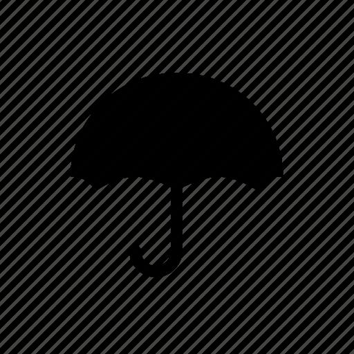 overcast, parks, rain, umbrella icon