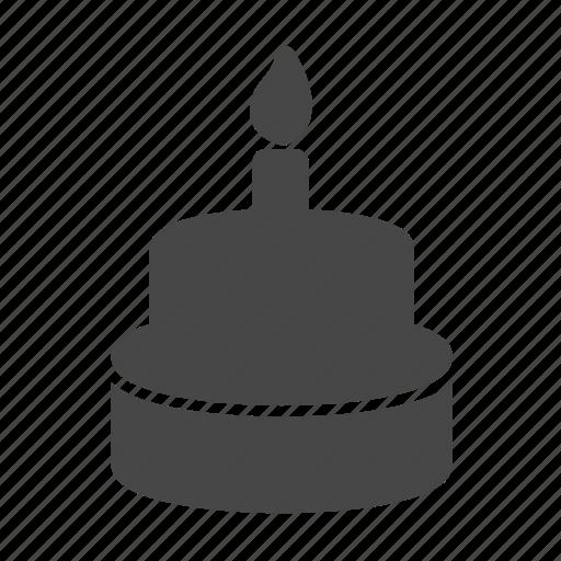birthday cake, cake, celebrate, celebration, party icon