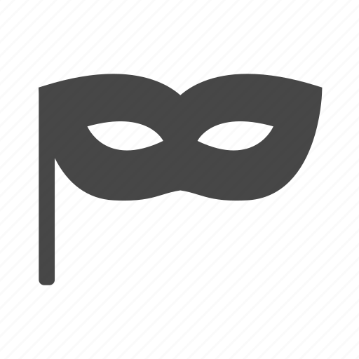 halloween, mask, masquerade, party icon