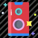 speaker, box