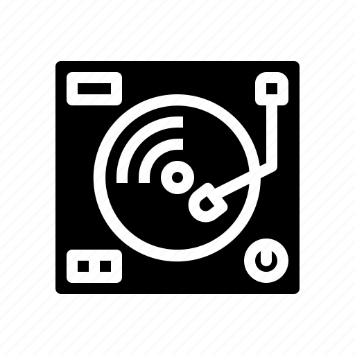disc, dj, jockey, music, musical, turntable icon