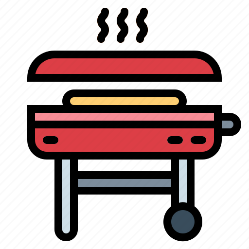 barbecues, basket, grill, grilling icon