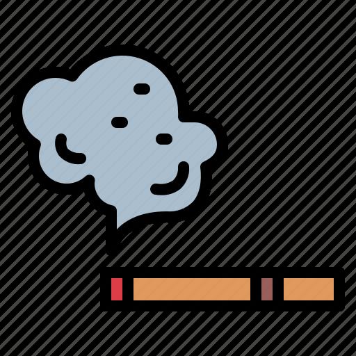 cigar, cigarette, smoking, unhealthy icon