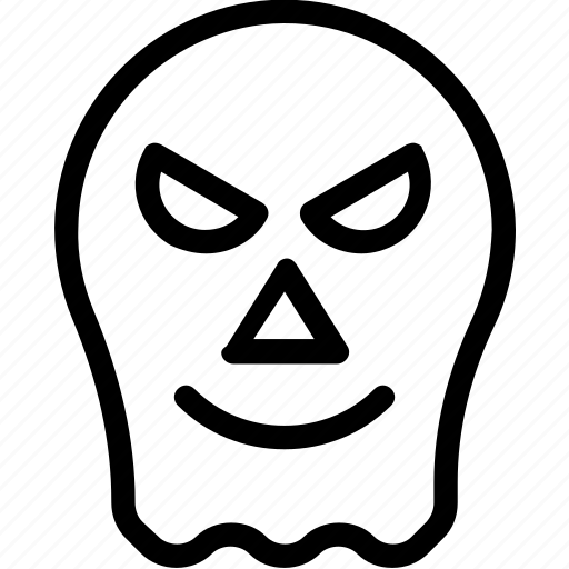 evil, evil ghost, ghost, halloween, scary icon