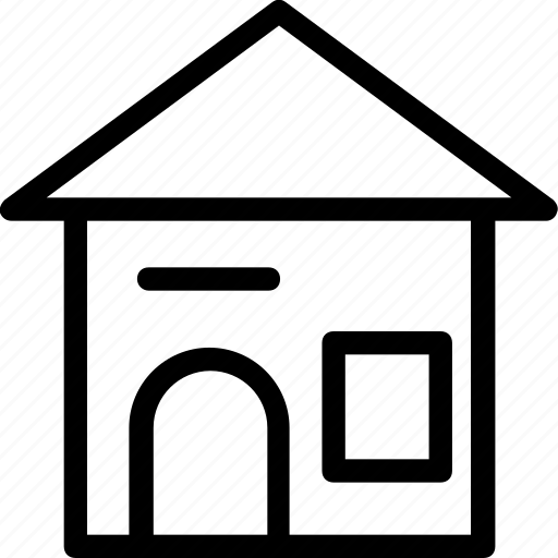 building, cottage, family house, home, house icon