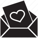 card, letter, love, love letter, mail, valentine card icon