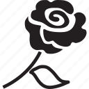 flower, love, proposal, rose, rose flower, valentine icon