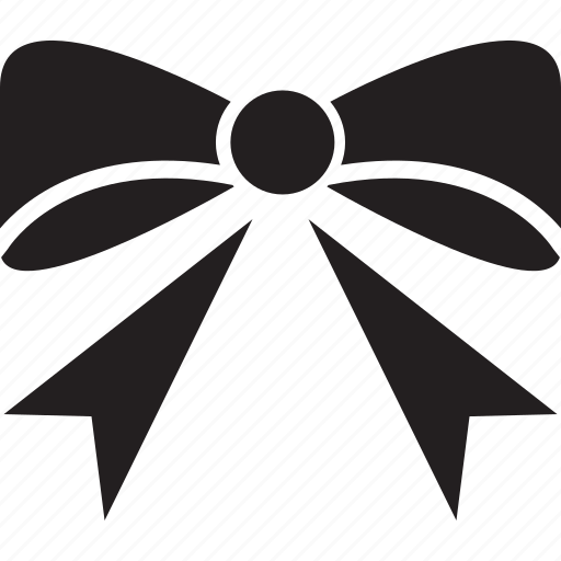 decoration, knot, ribbon icon