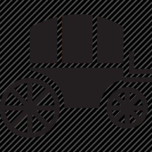buggy, cart, transport, vehicle icon
