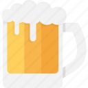 beer, beer mug, beer pint, beer stein, pint glass icon