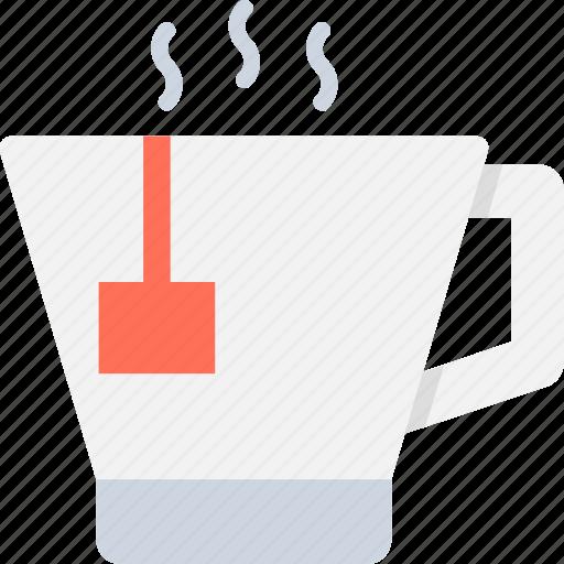 coffee mug, hot drink, hot tea, instant tea, tea mug icon