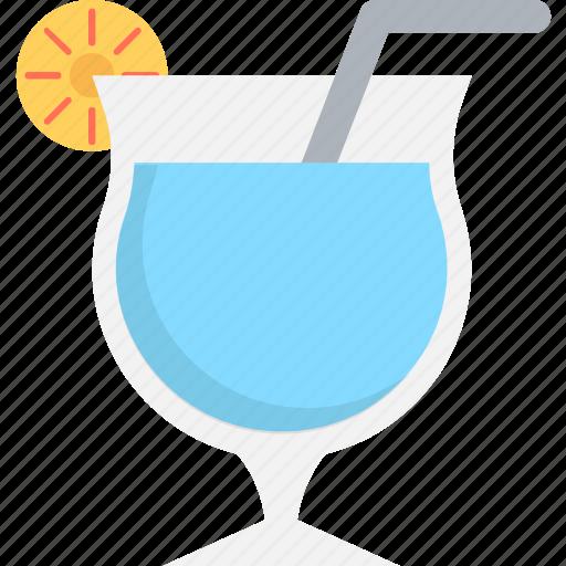 cocktail, drink, margarita, martini, straw icon
