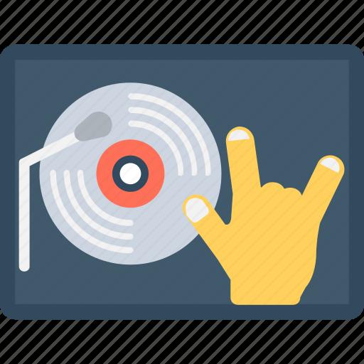 cd, club, disc jocky, dj, music player icon
