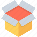 box, hamper, package, parcel, surprise gift icon
