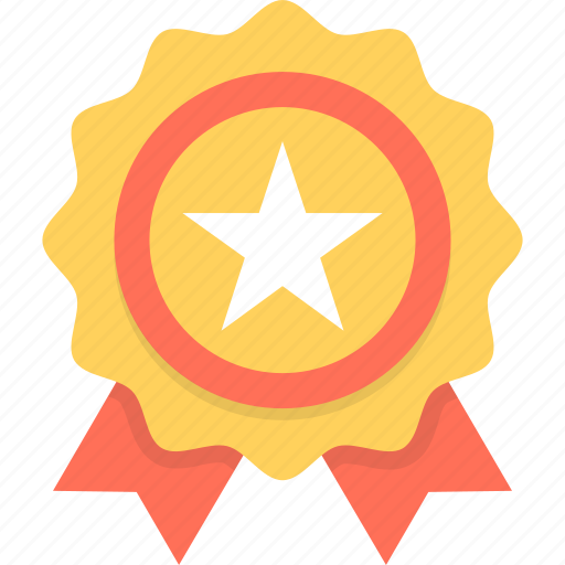 award, badge, premium, prize, ribbon badge icon