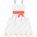 clothing, dress, partywear, wedding dress, wedding gown icon