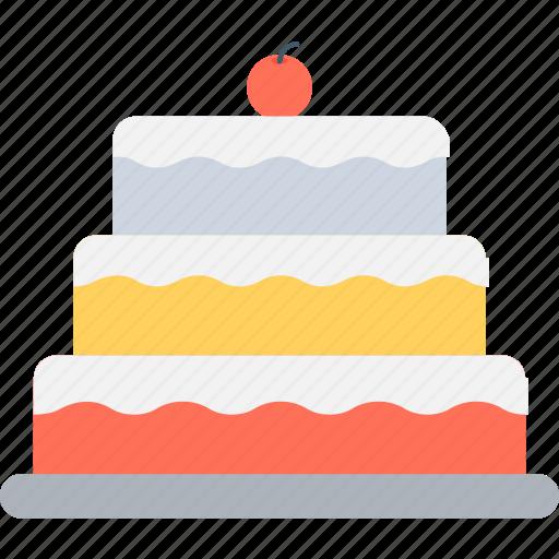 birthday cake, cake, celebration, christmas cake, food icon