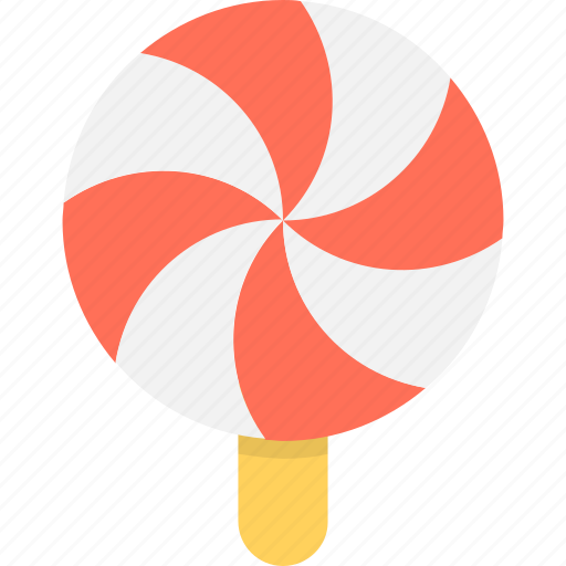 candy, confectionery, lollipop, sweet, swirl lollipop icon