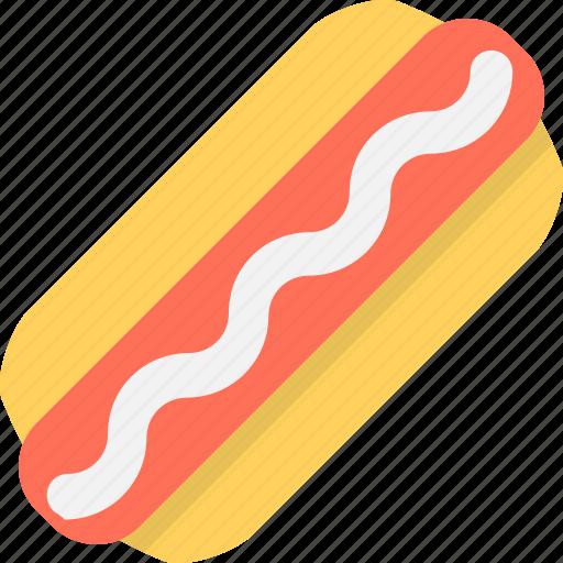 fast food, food, hotdog, hotdog sandwich, junk food icon