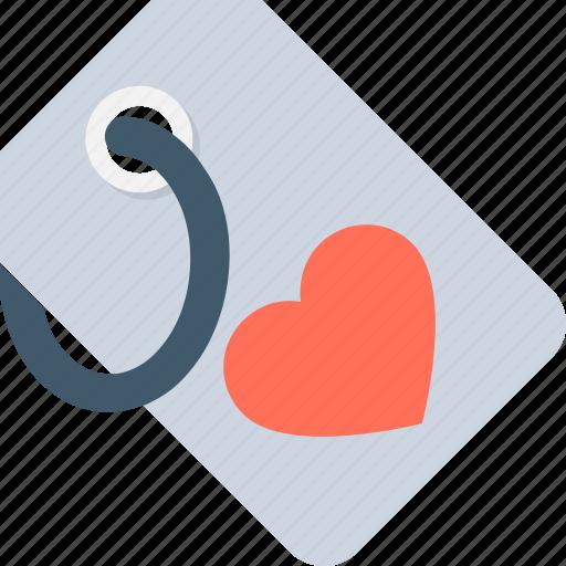heart, heart tag, label, tag, valentine icon