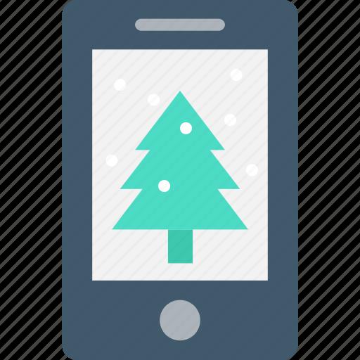 christmas, christmas shopping, ecommerce, eshop, mobile icon