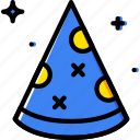 birthday, celebration, hat, party icon