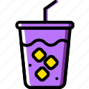 birthday, celebration, party, soda icon