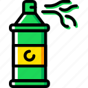 birthday, celebration, confetti, party, spray icon