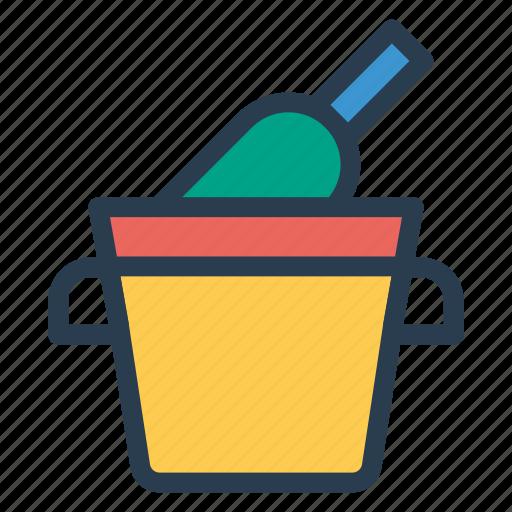 basket, bottle, cart, trolley icon