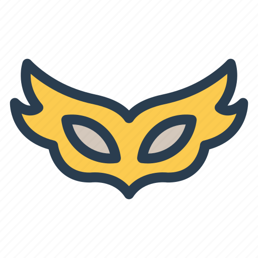 carnival, costume, mask, party icon