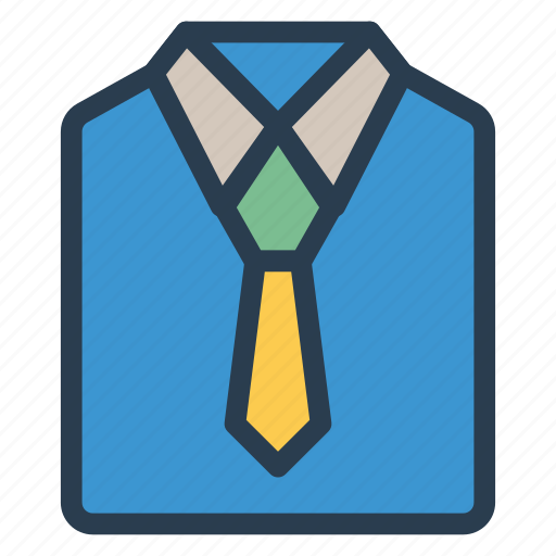 cloth, dress, shirt, tie icon