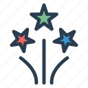 carnival, celebration, firework, party icon