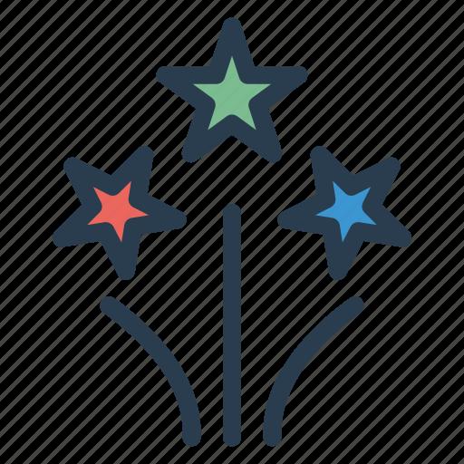 carnival, celebration, firework, party icon