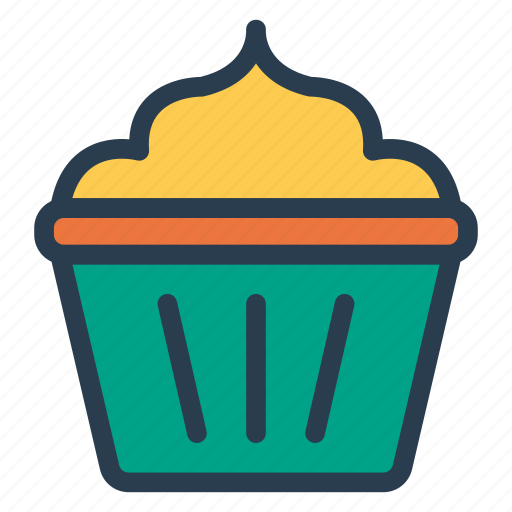 cake, muffin, pastry, sweet icon