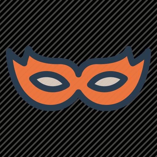 carnival, costume, eye, mask icon