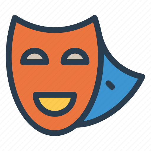 costume, face, mask, party icon