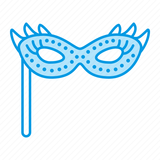 carnival, mask, masquerade, party, private icon