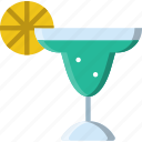 birthday, celebration, cocktail, party icon