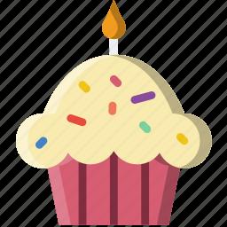 birthday, cake, celebration, party icon